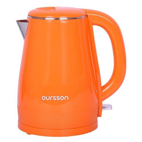 Фото - Чайник Oursson EK1530W/OR, orange чайник oursson ek1760m 1 7l red