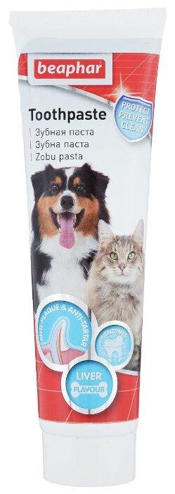 Зубная паста Beaphar для собак и кошек со вкусом печени 100 г