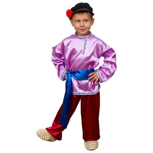 Купить Костюм Elite CLASSIC Иванушка, сиреневый, размер 32 (128), Карнавальные костюмы