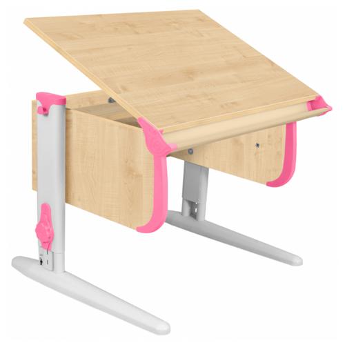 Купить Стол ДЭМИ СУТ-24 75x55 см клен/розовый/белый, Парты и столы