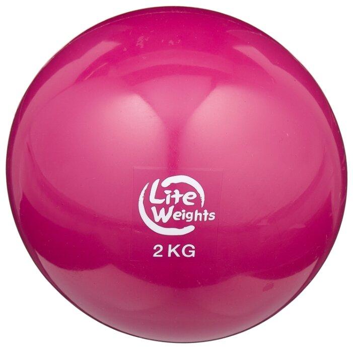 Медбол Lite Weights 1702LW, 2 кг