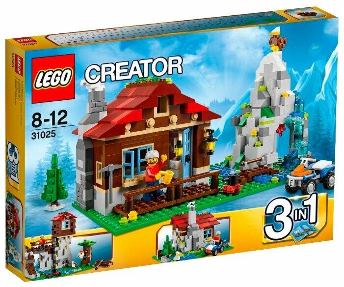 Конструктор LEGO Creator 31025 Домик в горах
