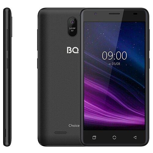 Смартфон BQ 5016G Choice, черный смартфон bq 5045l wallet черный