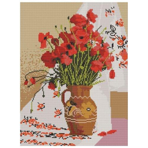 Украинский натюрморт (рис. на габардине 29х39) 29х39 Конек 9625