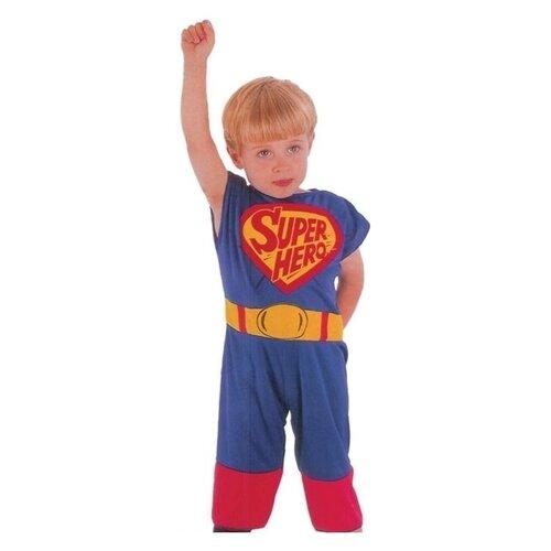 Купить Костюм SNOWMEN Супермен (Е51263), синий, размер 3-4 года, Карнавальные костюмы