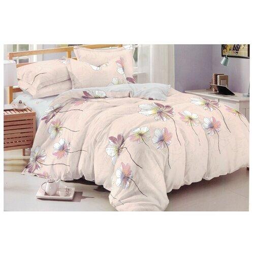 Постельное белье 2-спальное Boris AC-19-180/7, полисатин розовыйКомплекты<br>
