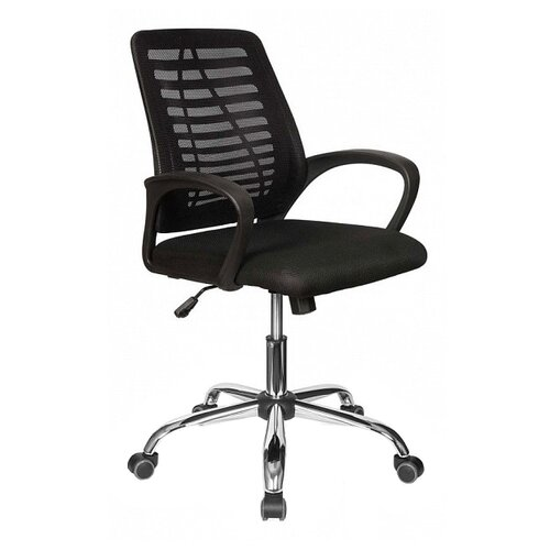 Компьютерное кресло College CLG-422 MXH-B офисное, обивка: текстиль, цвет: черный компьютерное кресло college clg 619 mxh b офисное обивка текстиль цвет бежевый