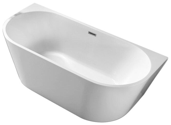 Ванна отдельностоящая Abber AB9216-1.5 акрил — купить по выгодной цене на Яндекс.Маркете