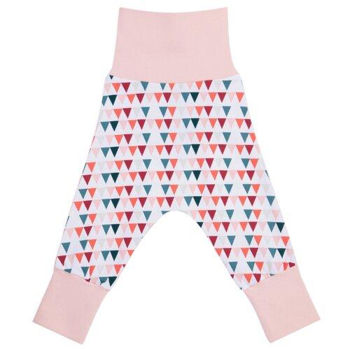Брюки prosto tak UW17.001.01.BG0-2 размер 80, цирковые флажки розовый комбинезон prosto tak размер 68 хрюша в полете флажки