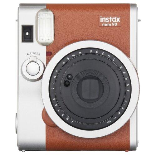 Фото - Фотоаппарат моментальной печати Fujifilm Instax Mini 90 brown fujifilm colorfilm instax mini pink lemonade 10 1pk 8 6x5 4cm 16581836