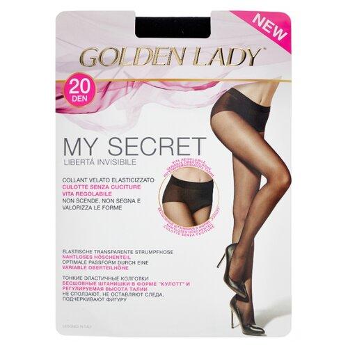 Колготки Golden Lady My Secret 20 den, размер 2-S, nero (черный) collins w my lady s money