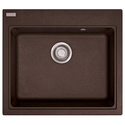Врезная кухонная мойка 58.4 см FRANKE MRG 610-58 шоколад