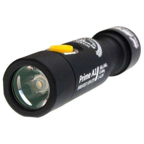 Ручной фонарь ArmyTek Prime A1 v3 XP-L (тёплый свет) черный ручной фонарь armytek prime c1 pro v3 xp l белый свет черный