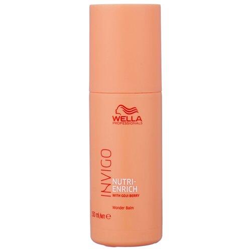 Wella Professionals несмываемый крем-бальзам для волос Invigo Nutri-Enrich Wonder Balm питательный, 150 мл wella питательный крем бальзам nutri enrich 150 мл