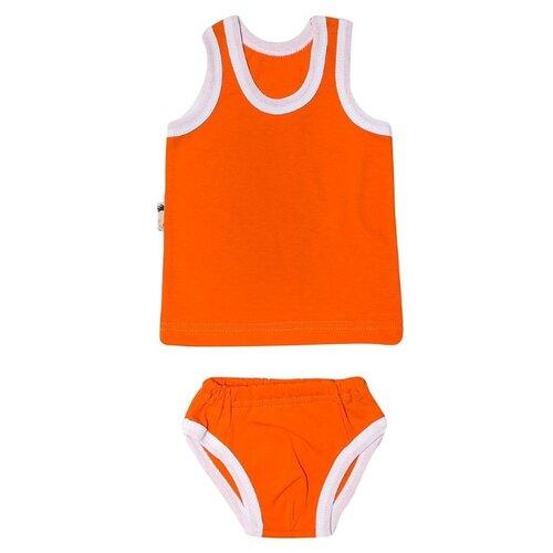 Фото - Комплект одежды Клякса размер 26, оранжевый комплект одежды клякса размер 86 желтый
