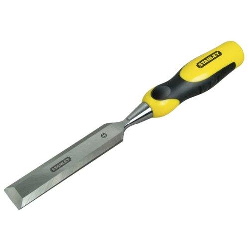 Стамеска плоский STANLEY DynaGrip 0-16-889 стамеска 16 мм dynagrip stanley 0 16 876