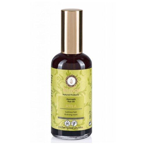 Khadi Naturprodukte Травяное масло для волос Амла, 100 мл масло для волос хна розмарин амла indian khadi 200 мл