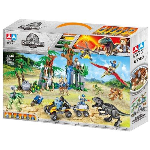 Купить Конструктор Chaobao Dinosaur World 6740, Конструкторы