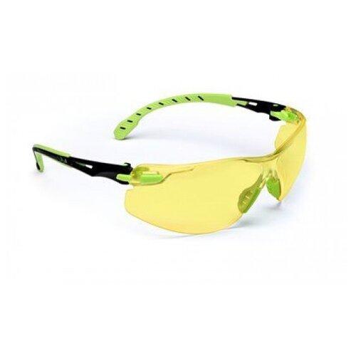 Очки 3M Solus 1000 черный-зеленый/желтый по цене 1 431