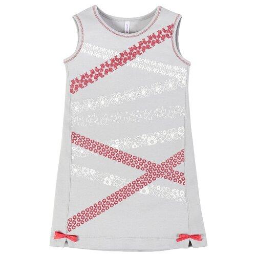 Купить Платье Мамуляндия размер 116, серый, Платья и сарафаны