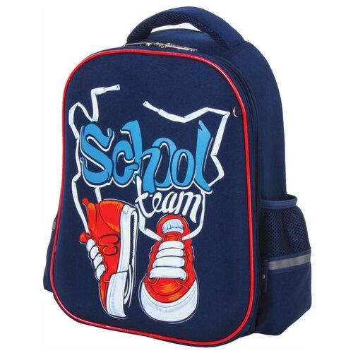 Юнландия ранец Light Sneakers (228793), красный/синий юнландия ранец extra sports ball 228802 синий оранжевый