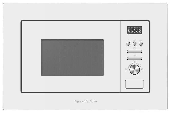 Купить Микроволновая печь встраиваемая Zigmund & Shtain BMO 16.202 W по низкой цене с доставкой из Яндекс.Маркета