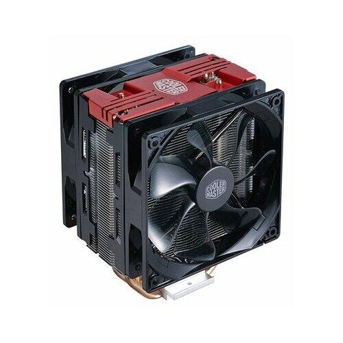 Фото - Кулер для процессора Cooler Master Hyper 212 LED Turbo Red Top Cover кулер для процессора cooler master hyper 212 spectrum rr 212a 20pd r1