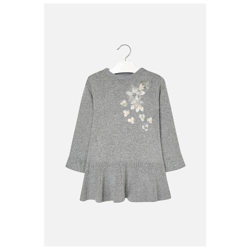 Купить Платье Mayoral размер 110, серый, Платья и сарафаны