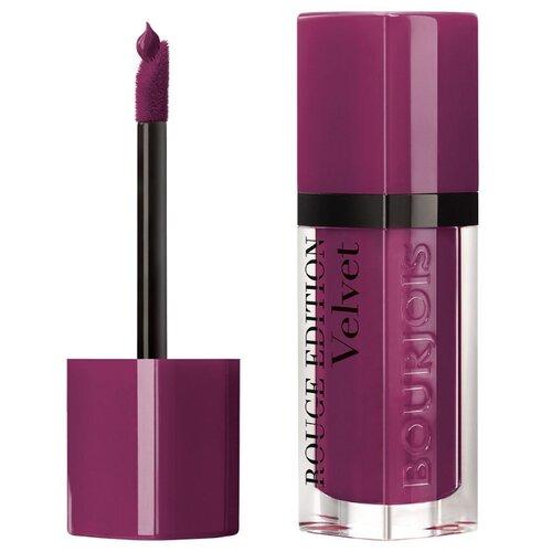 Фото - Bourjois жидкая помада для губ Rouge Edition Velvet, оттенок 14 Plum Plum Girl clinique 14 plum pop