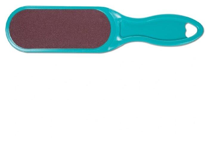 Купить Domix Green Professional 385715 Тёрка абразивная педикюрная двусторонняя с пластиковой ручкой. Цвет по низкой цене с доставкой из Яндекс.Маркета