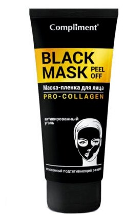 Compliment Black Mask Маска-плёнка Pro-Collagen