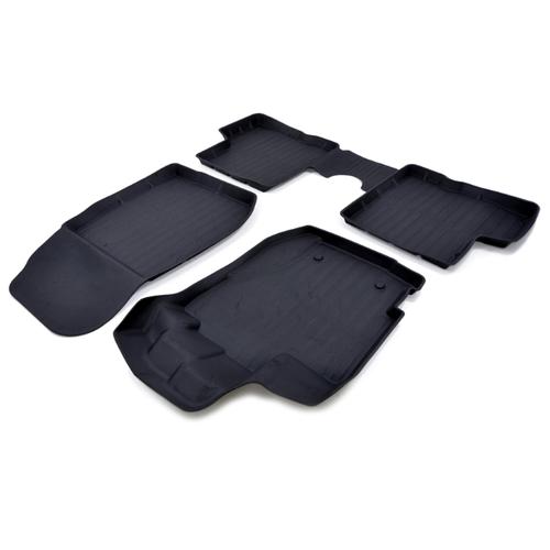 Комплект ковриков SRTK PR.RN.CAP.16G.02X35 для Renault Kaptur 4 шт. черный