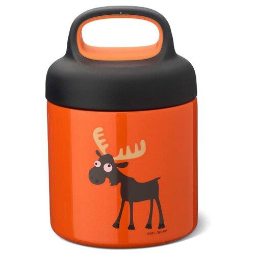 Carl Oscar Термос для еды LunchJar™ Moose 0.3л оранжевый