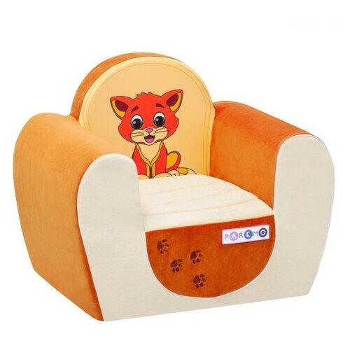 Классическое кресло PAREMO детское PCR316 размер: 54х38 см, обивка: ткань, цвет: котенок