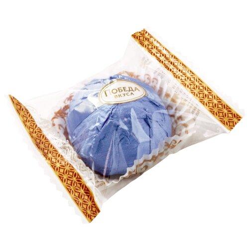 Конфеты Победа вкуса Трюфели с марципаном и грецким орехом, коробка 1500 г