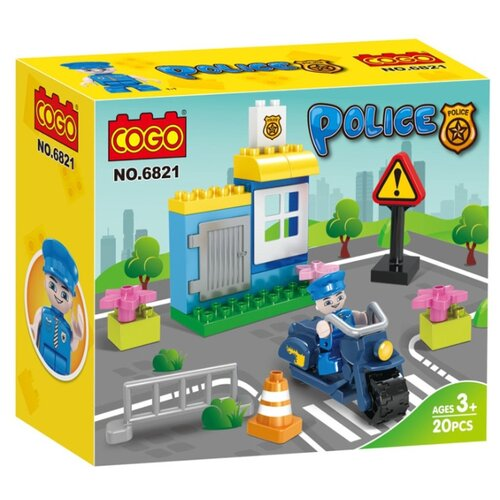 Конструктор COGO Police CG6821, Конструкторы  - купить со скидкой