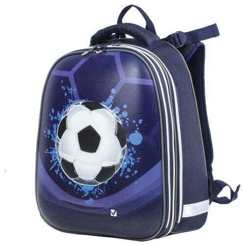 Купить BRAUBERG Рюкзак Extra Мяч ХИТ (225426), синий, Рюкзаки, ранцы