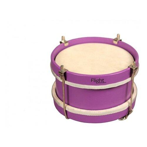 Купить Flight барабан FMD-20 фиолетовый, Детские музыкальные инструменты