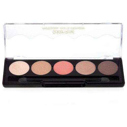 Golden Rose Палетка теней для век Professional Palette Eyeshadow 106 nude pink