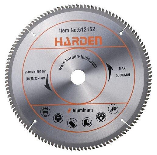Пильный диск Harden 612152 254х25.4 мм