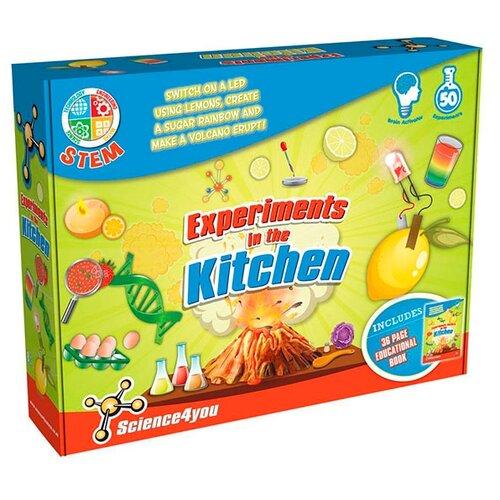 Набор Science4you Моя лаборатория: Эксперименты на кухне салатовый