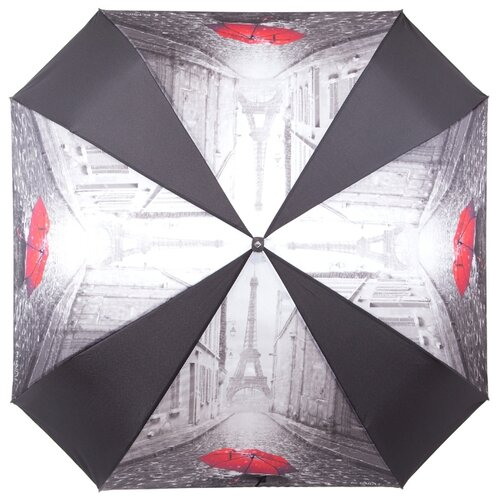 Зонт автомат FLIORAJ 170103 FJ черный/серый рюкзак женский flioraj цвет черный 00058058