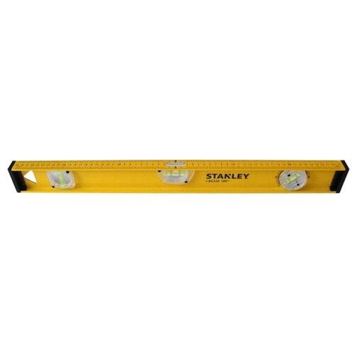 Уровень брусковый 3 глаз. STANLEY I BEAM180 1-42-919 40 см уровень stanley 40см antichoc compozit 1 42 460