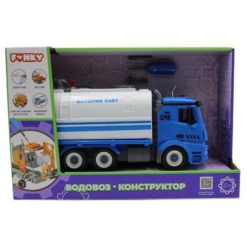 Купить Винтовой конструктор Funky Toys Водовоз FT61117, Конструкторы