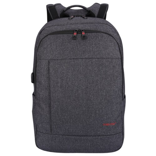 Рюкзак Tigernu T-B3142usb темно-серый рюкзак tigernu t b3217 темно серый