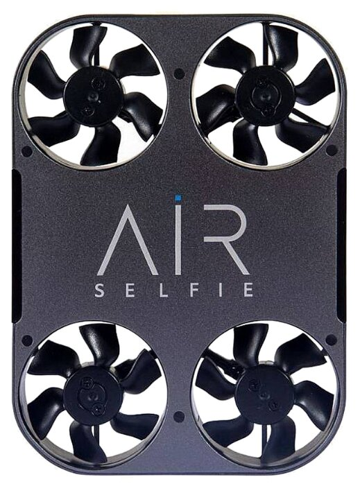 Квадрокоптер AirSelfie AirSelfie2 Power Edition черный фото 1