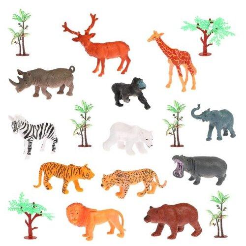 Купить Фигурки Наша игрушка Animal World 929-21A, Игровые наборы и фигурки
