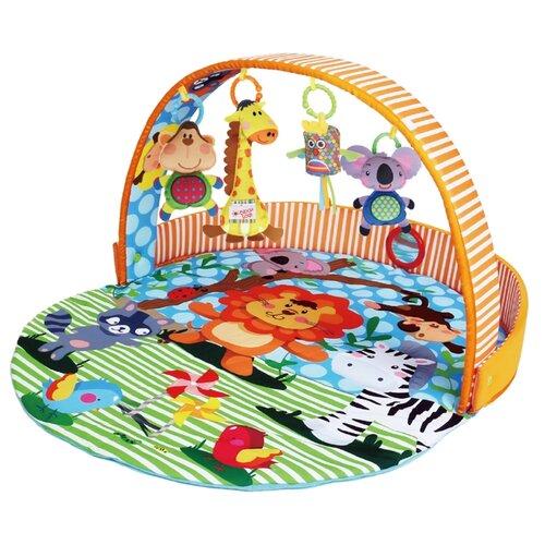 цена на Развивающий коврик Biba Toys Сафари (BP181)