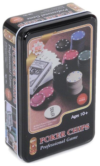 Набор для покера Игротрейд IT103559, 120 фишек