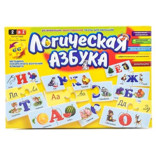Купить Настольная игра Danko Toys Логическая азбука, Настольные игры